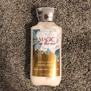 Bath and Body Works lotion.